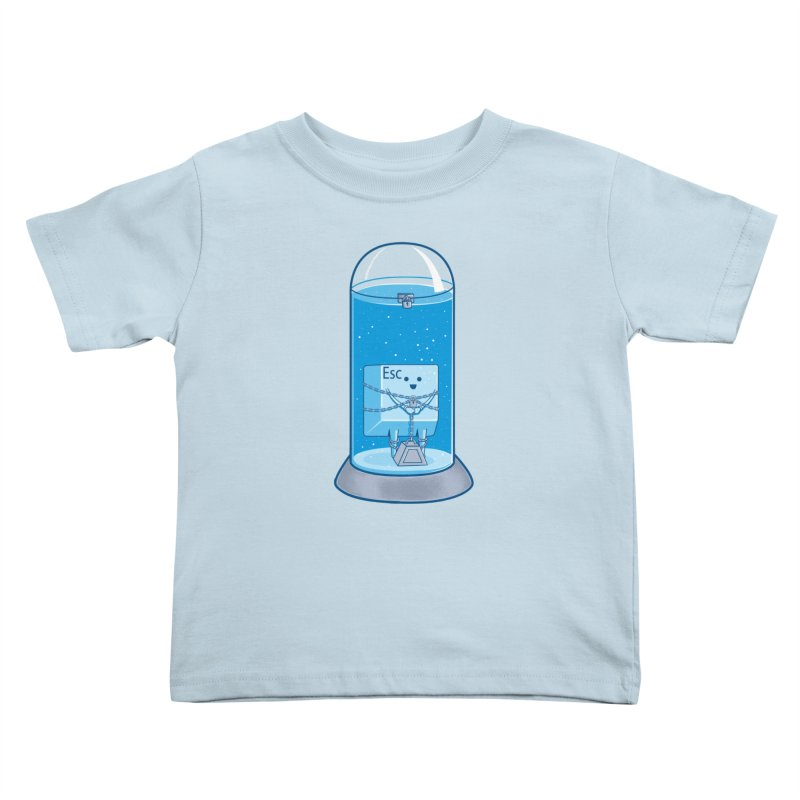 Escape Artist Kids Toddler T-Shirt by Fathi