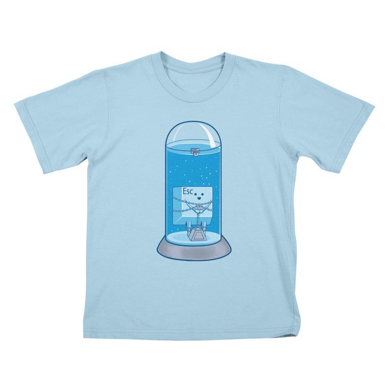 Escape Artist Kids T-Shirt by Fathi