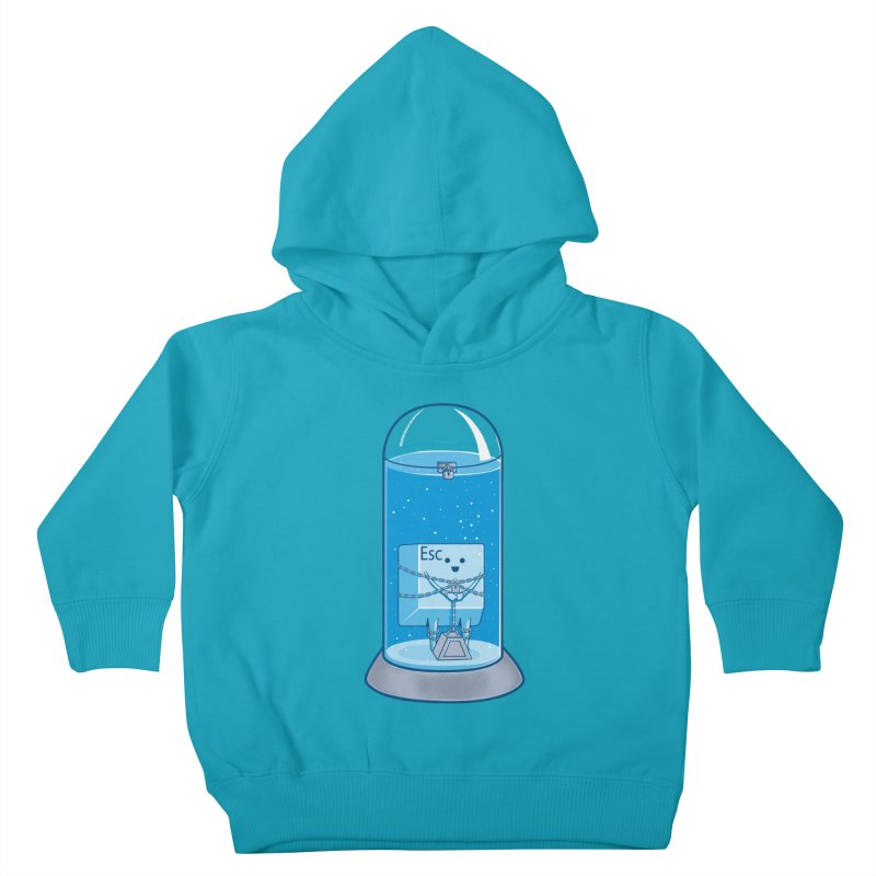 Escape Artist Kids Toddler Pullover Hoody by Fathi
