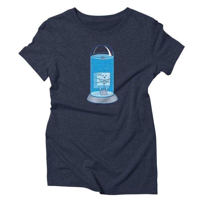 Escape Artist Women's T-Shirt by Fathi