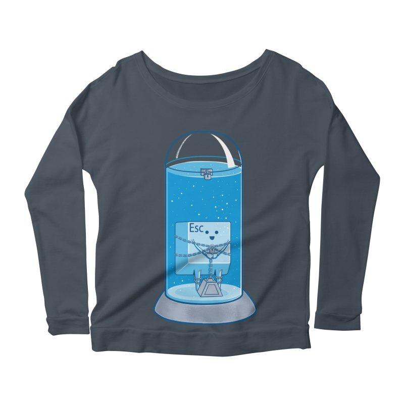 Escape Artist Women's Scoop Neck Longsleeve T-Shirt by Fathi