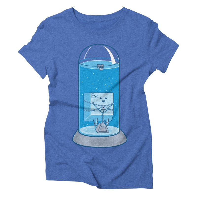 Escape Artist Women's Triblend T-Shirt by Fathi
