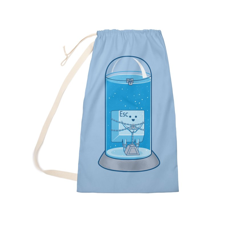 Escape Artist Accessories Laundry Bag Bag by Fathi