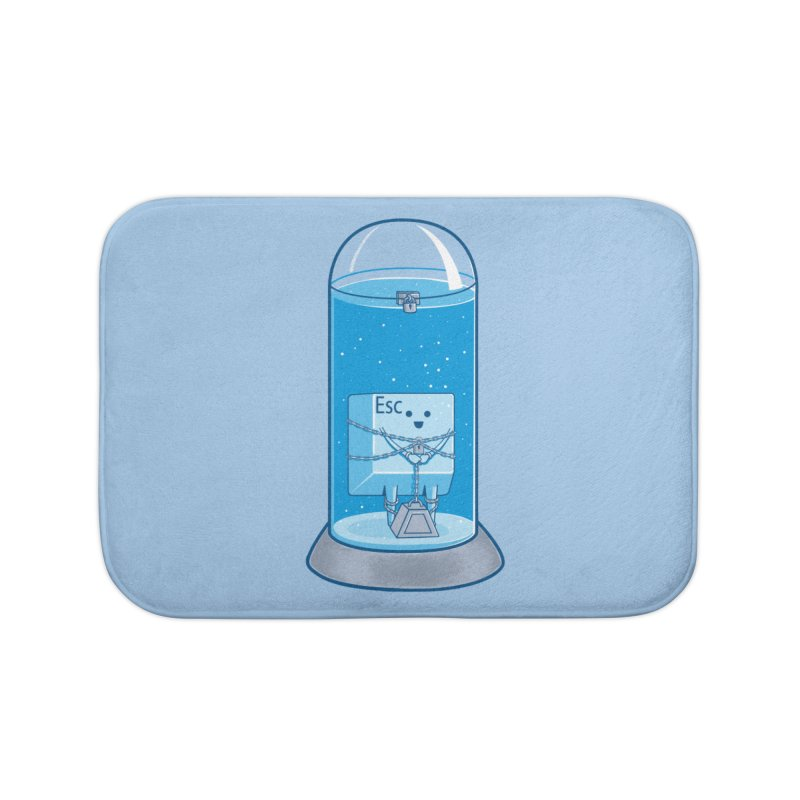 Escape Artist Home Bath Mat by Fathi