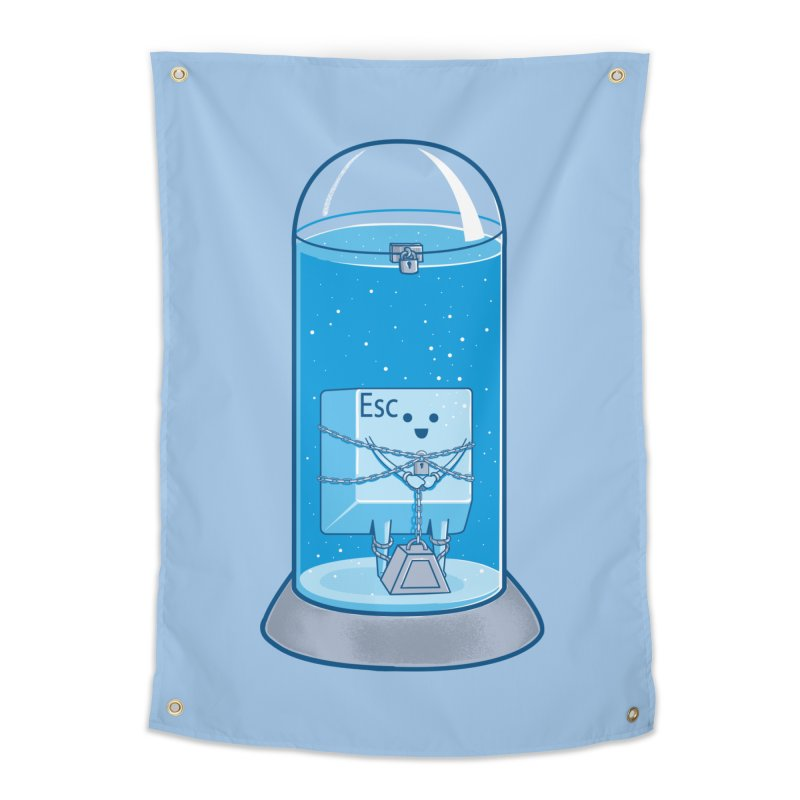 Escape Artist Home Tapestry by Fathi