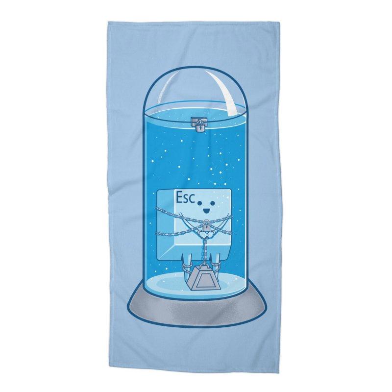 Escape Artist Accessories Beach Towel by Fathi