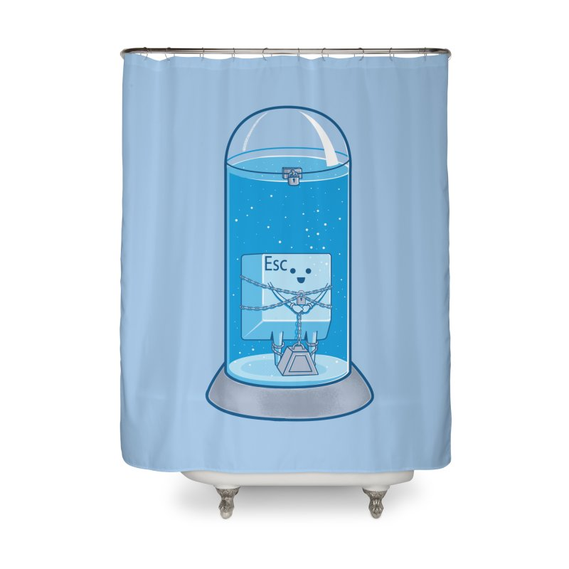Escape Artist Home Shower Curtain by Fathi