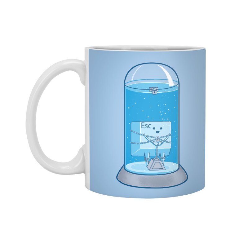 Escape Artist Accessories Mug by Fathi