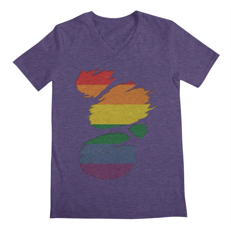 LGBT Inside Men's V-Neck by Fathi