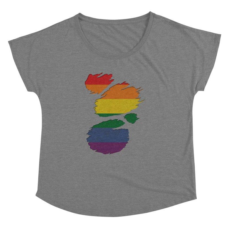 LGBT Inside Women's Dolman by Fathi