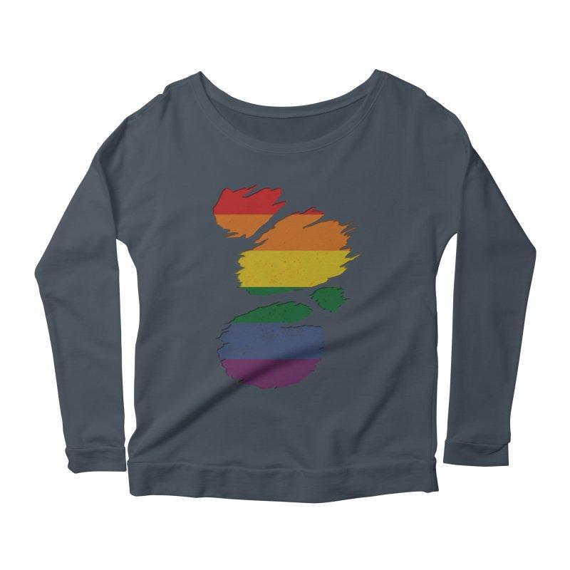 LGBT Inside Women's Longsleeve Scoopneck  by Fathi