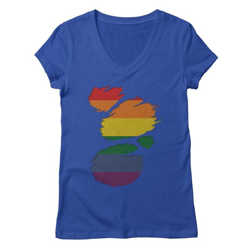 LGBT Inside Women's V-Neck by Fathi