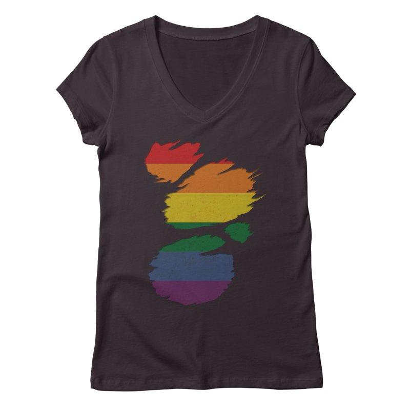 LGBT Inside Women's V-Neck by Fathi