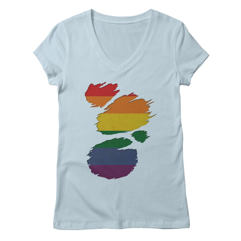 LGBT Inside Women's Regular V-Neck by Fathi
