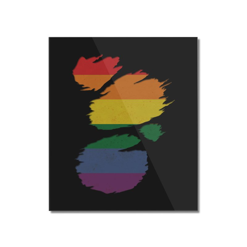 LGBT Inside Home Mounted Acrylic Print by Fathi