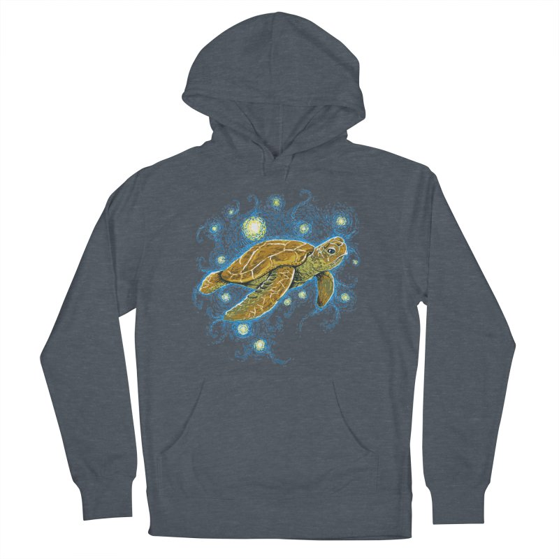 Starry Night Turtle Women's Pullover Hoody by Fathi