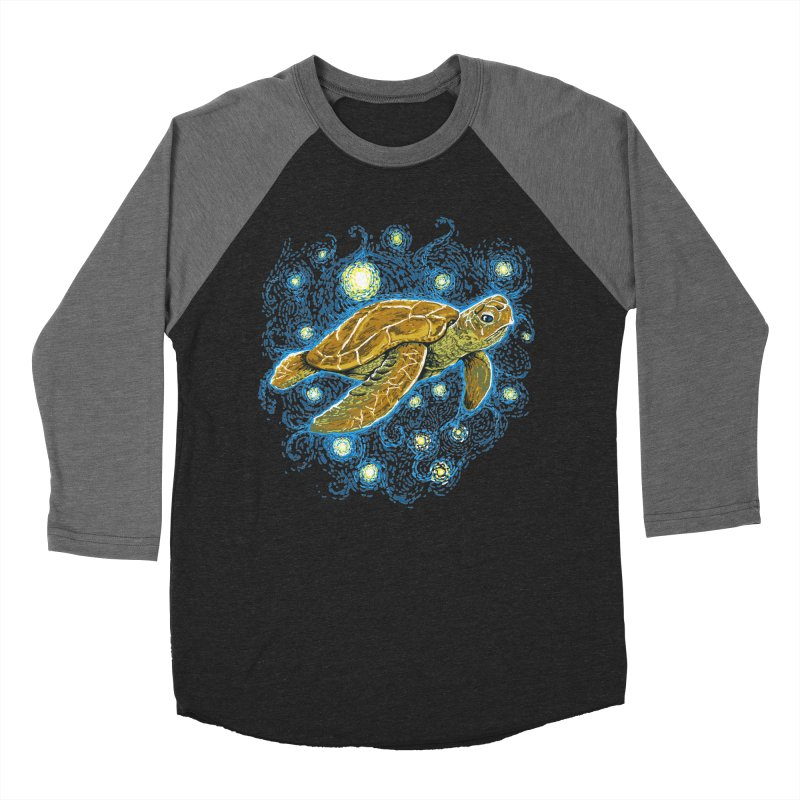 Starry Night Turtle Women's Longsleeve T-Shirt by Fathi