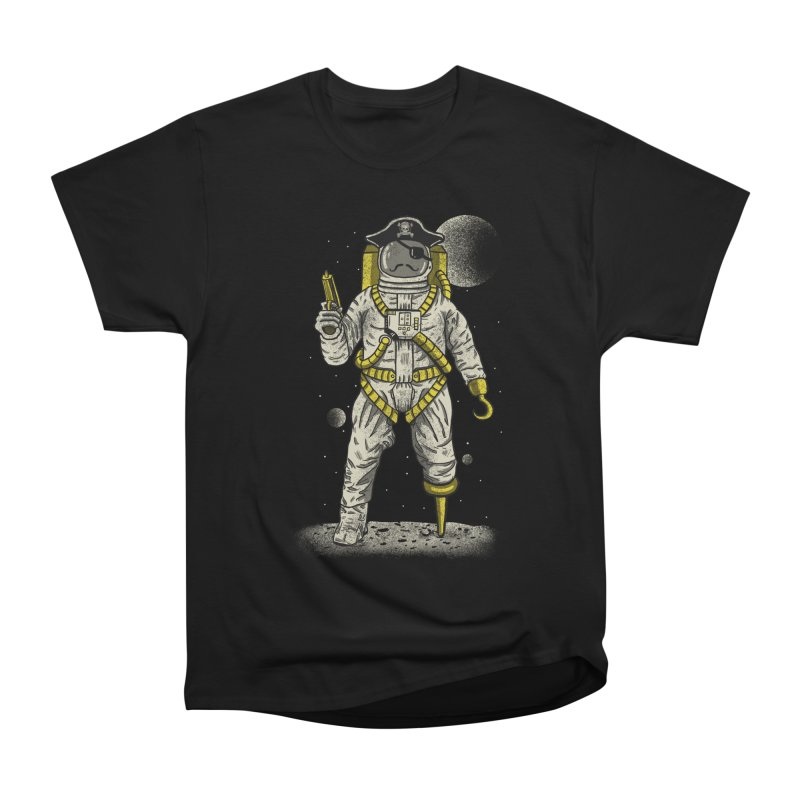 Astronaut Pirate Men's T-Shirt by Fathi