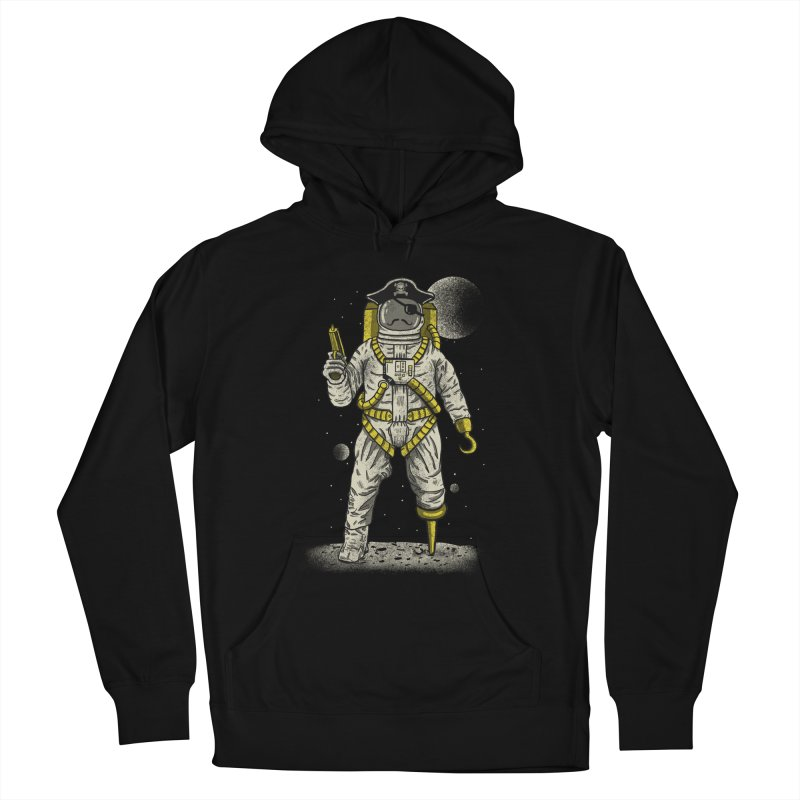 Astronaut Pirate Women's Pullover Hoody by Fathi