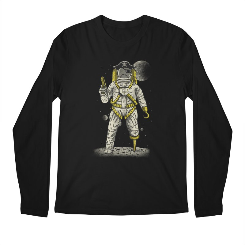 Astronaut Pirate Men's Longsleeve T-Shirt by Fathi