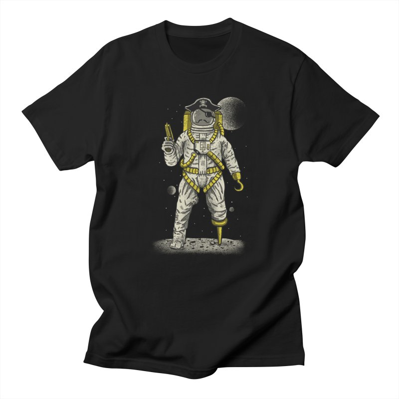 Astronaut Pirate Men's T-Shirt by Fathi