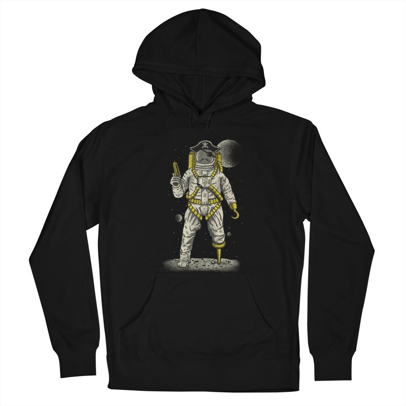 Astronaut Pirate Men's Pullover Hoody by Fathi