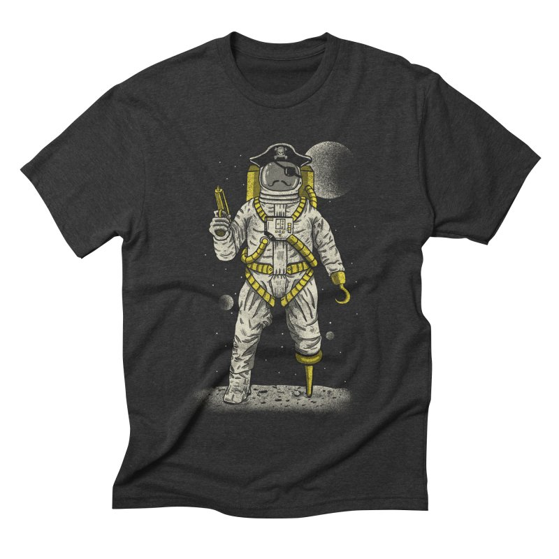 Astronaut Pirate Men's Triblend T-Shirt by Fathi
