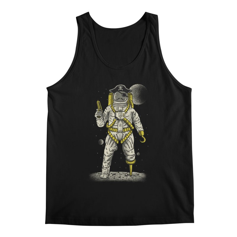 Astronaut Pirate Men's Regular Tank by Fathi