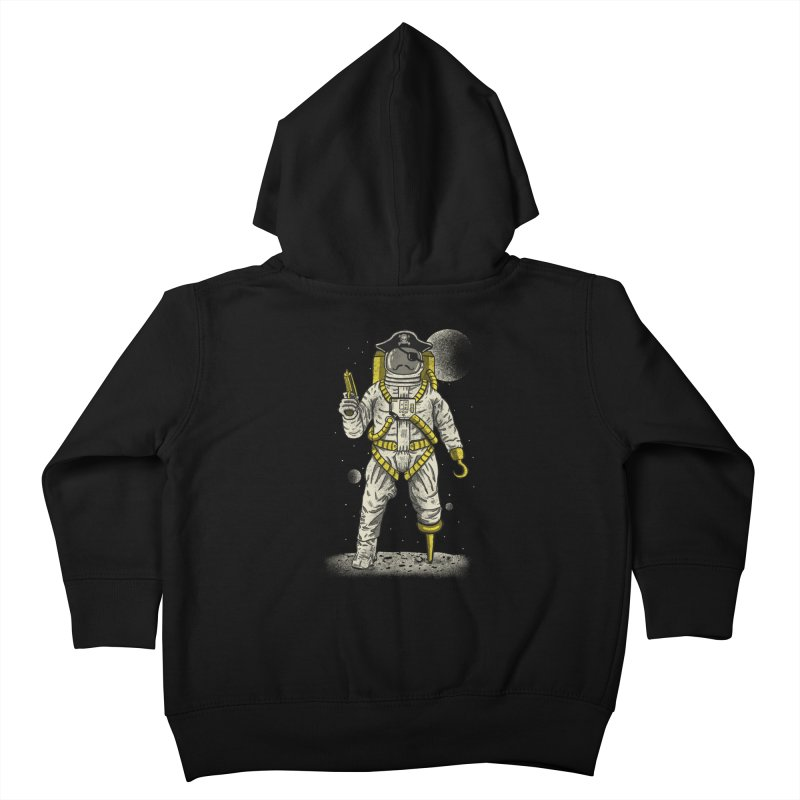 Astronaut Pirate Kids Toddler Zip-Up Hoody by Fathi
