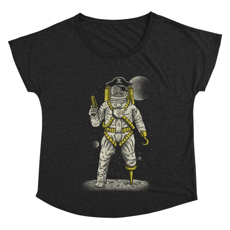 Astronaut Pirate Women's Scoop Neck by Fathi
