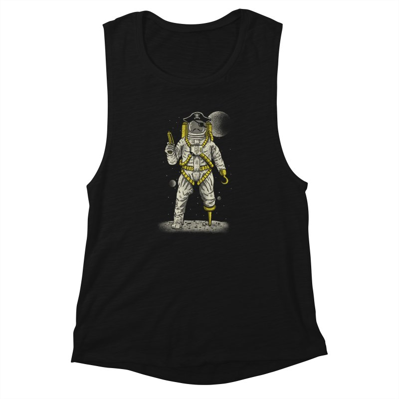 Astronaut Pirate Women's Tank by Fathi
