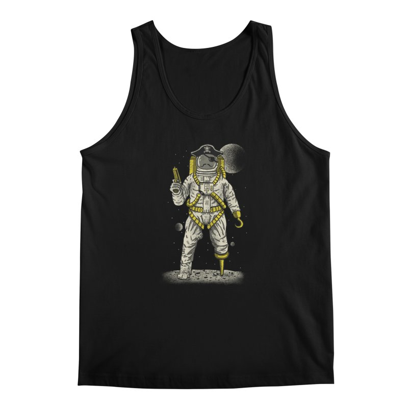 Astronaut Pirate Men's Tank by Fathi