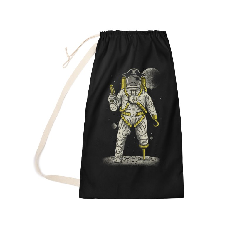 Astronaut Pirate Accessories Laundry Bag Bag by Fathi