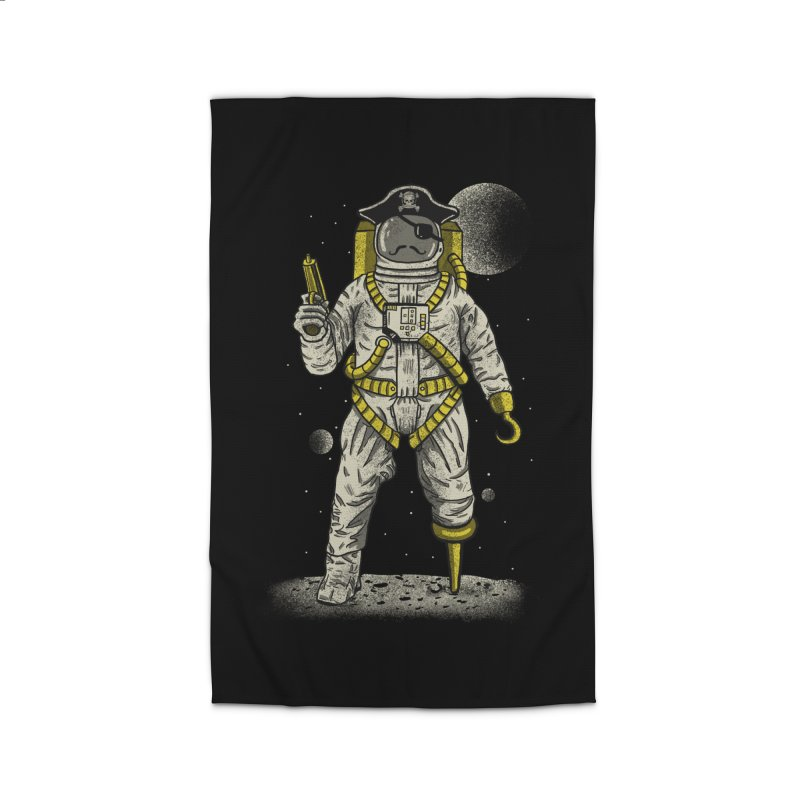 Astronaut Pirate Home Rug by Fathi