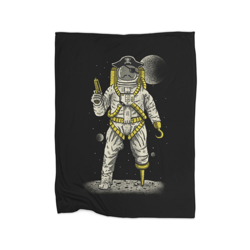 Astronaut Pirate Home Blanket by Fathi