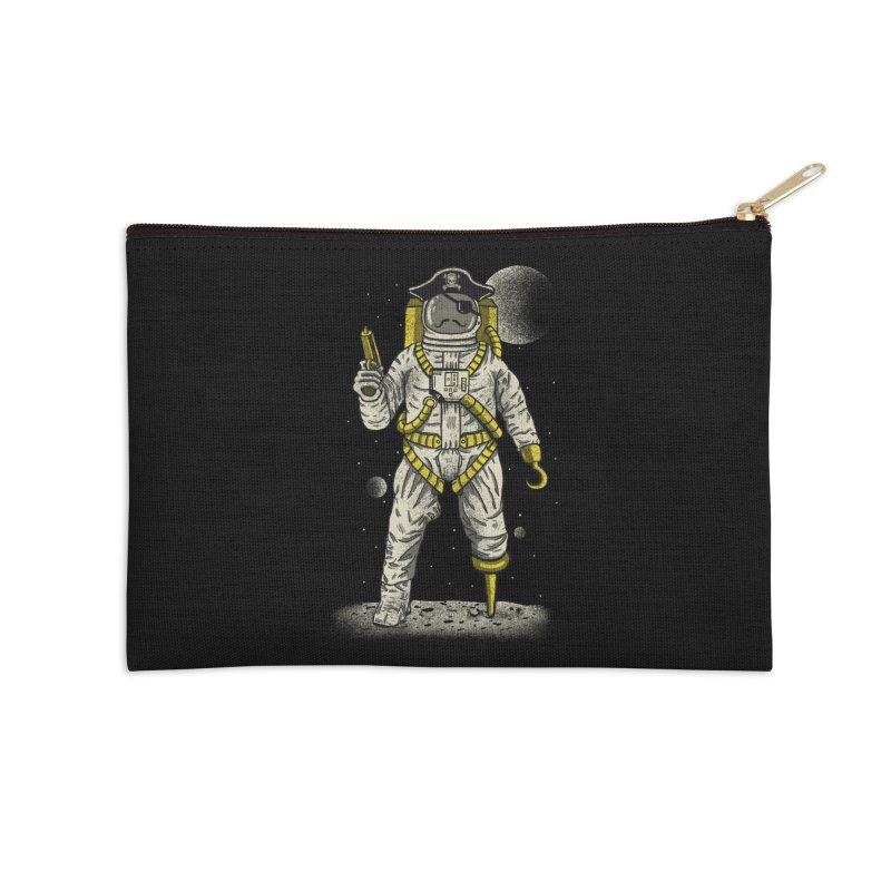 Astronaut Pirate Accessories Zip Pouch by Fathi