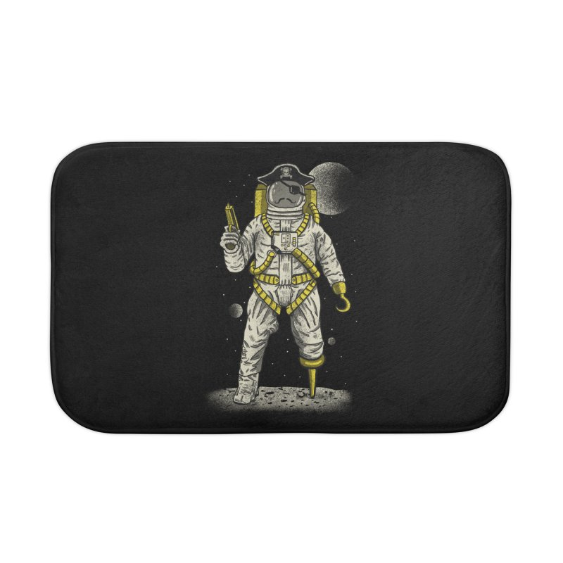 Astronaut Pirate Home Bath Mat by Fathi