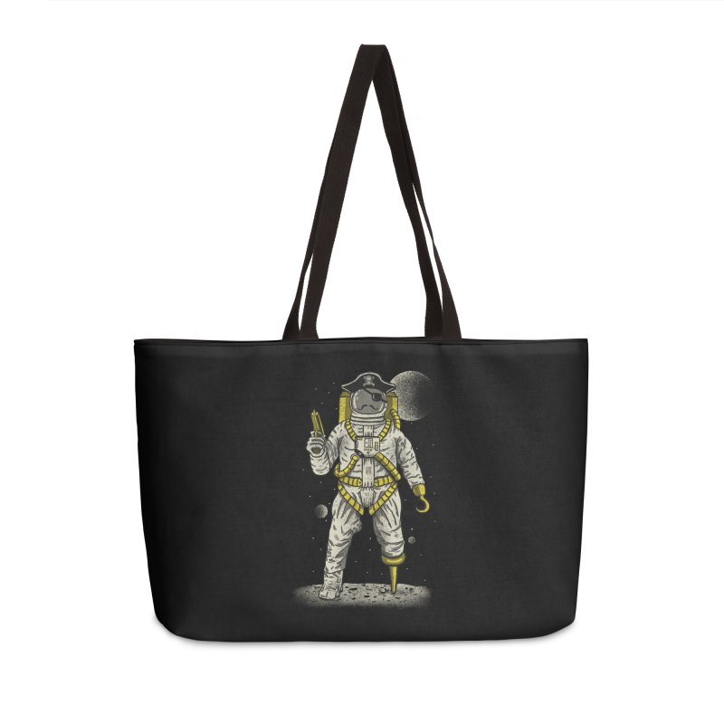 Astronaut Pirate Accessories Weekender Bag Bag by Fathi