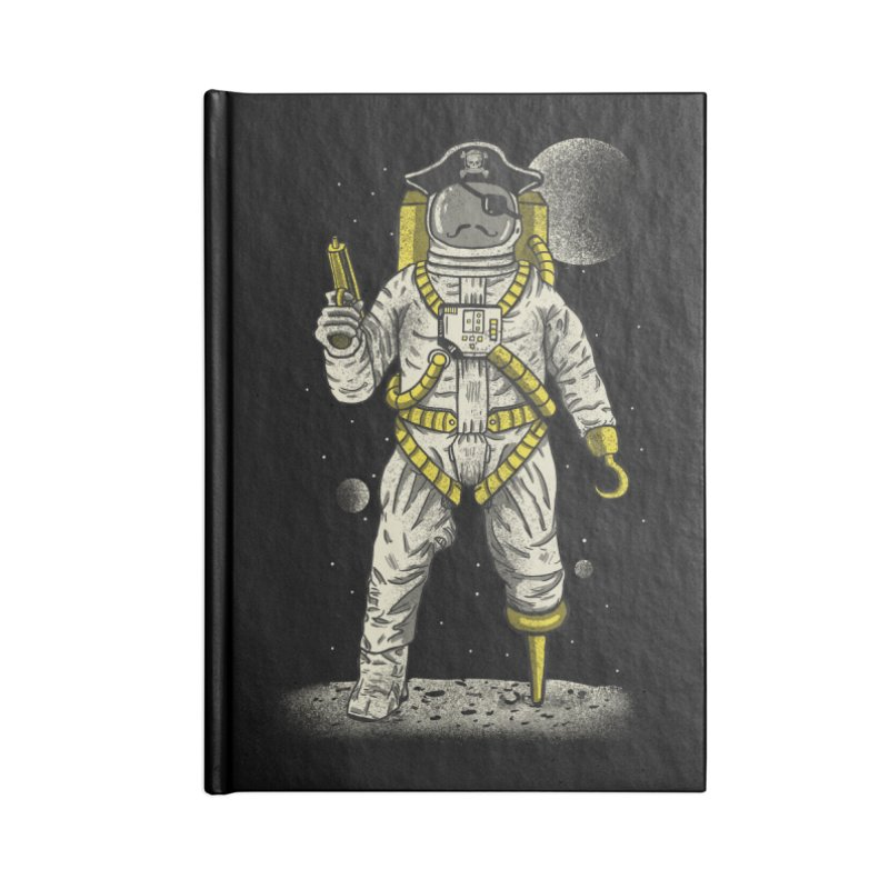 Astronaut Pirate Accessories Notebook by Fathi