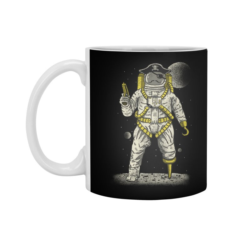 Astronaut Pirate Accessories Standard Mug by Fathi