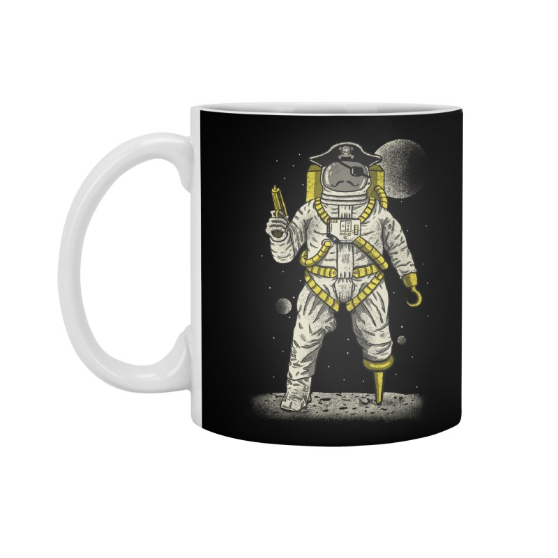 Astronaut Pirate Accessories Mug by Fathi