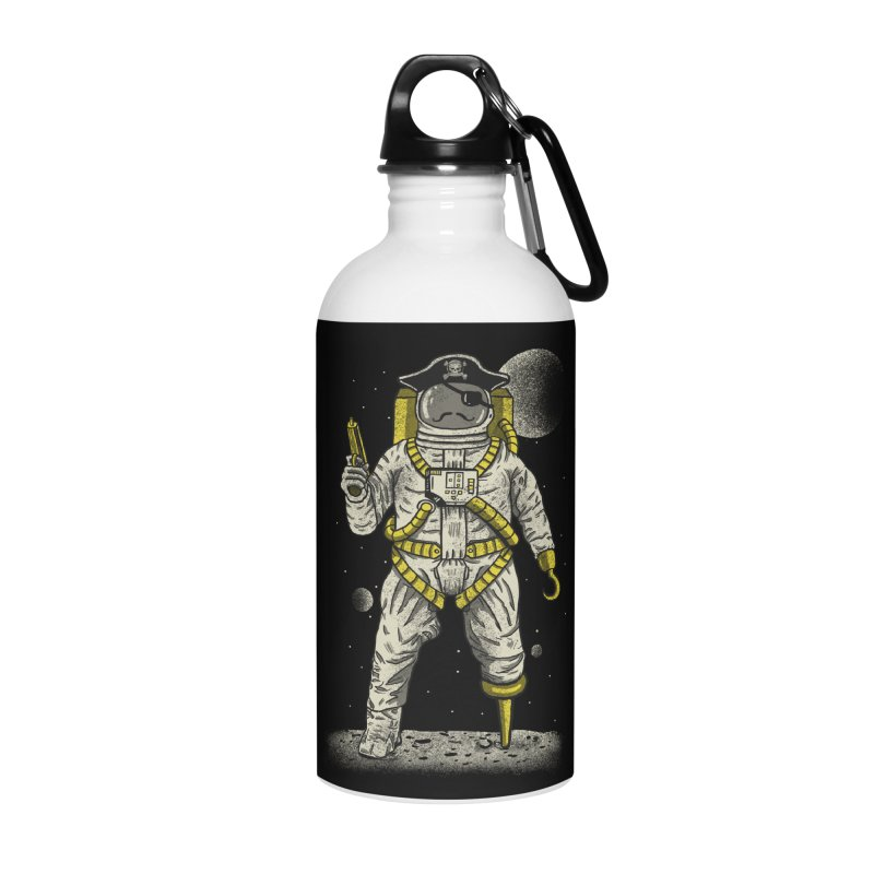 Astronaut Pirate Accessories Water Bottle by Fathi