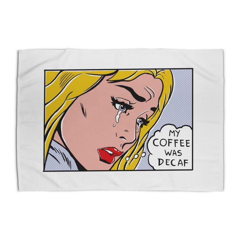 My Coffee Was Decaf Home Rug by Fathi