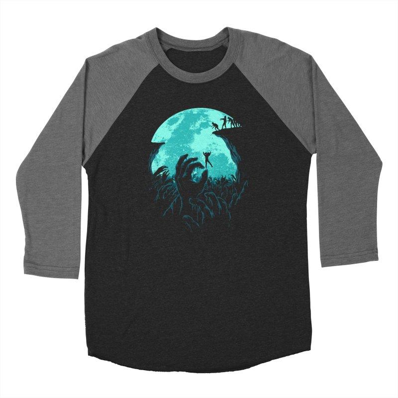 Sky Fall Men's Baseball Triblend Longsleeve T-Shirt by Fathi