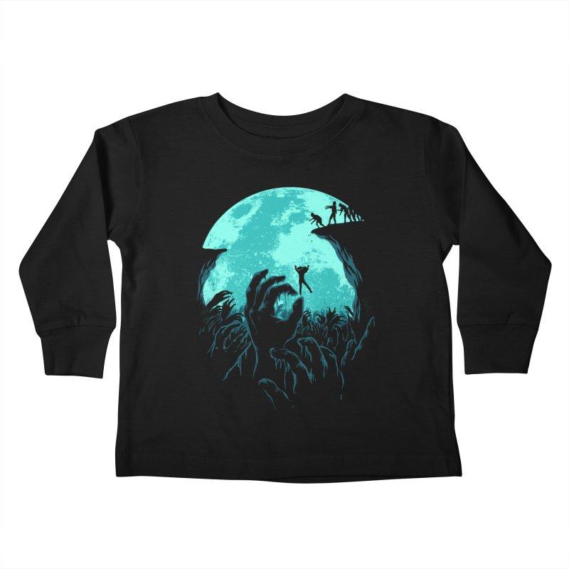 Sky Fall Kids Toddler Longsleeve T-Shirt by Fathi