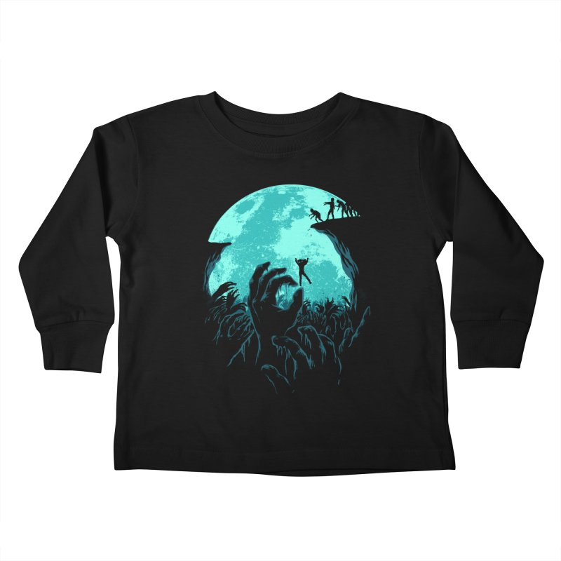 Sky Fall Kids Toddler Longsleeve T-Shirt by Fathi