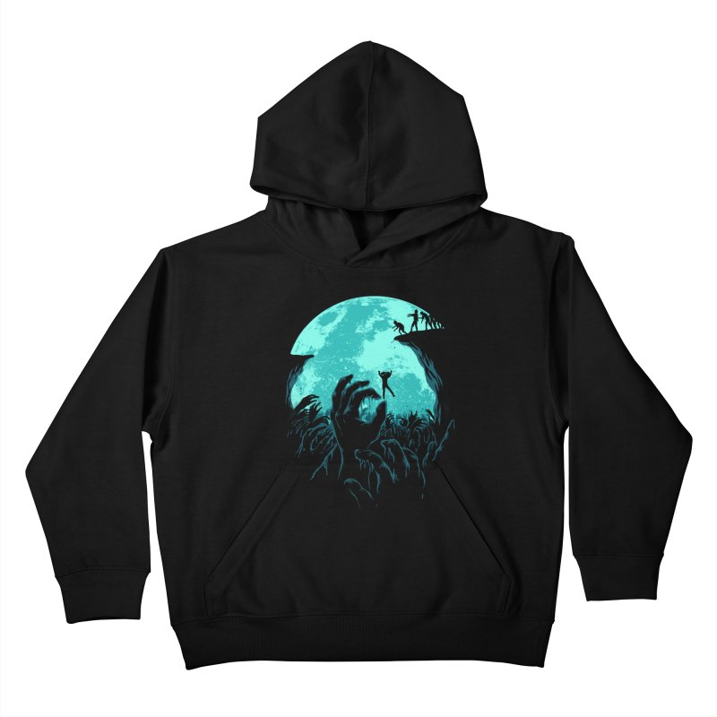 Sky Fall Kids Pullover Hoody by Fathi