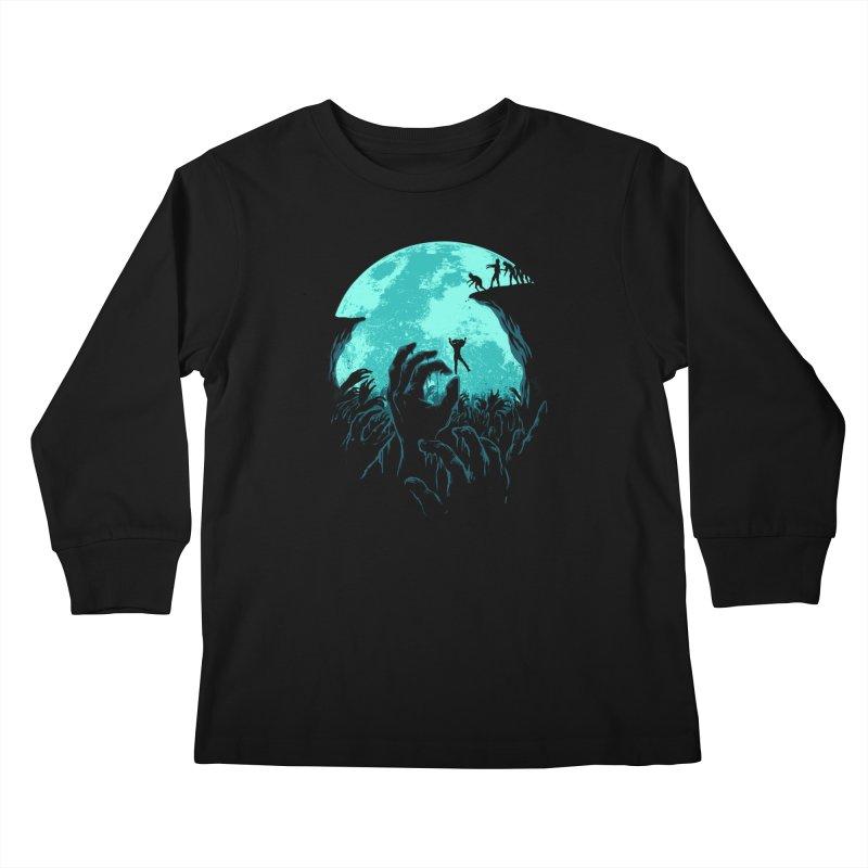 Sky Fall Kids Longsleeve T-Shirt by Fathi