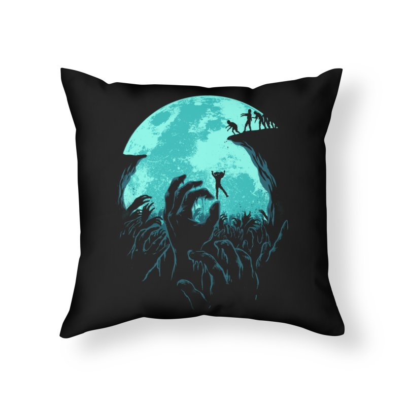 Sky Fall Home Throw Pillow by Fathi