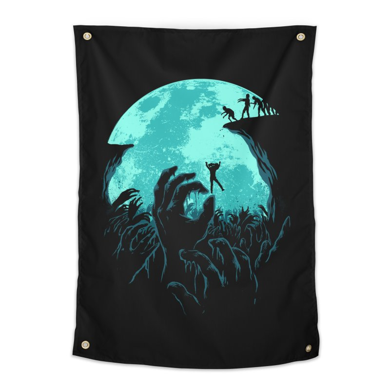 Sky Fall Home Tapestry by Fathi